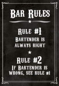 bar-rules-the-bartender-is-always-right-sign-art-print-poster