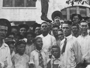 The Lynching of Lige Daniels. 3 August 1920, Center, Texas